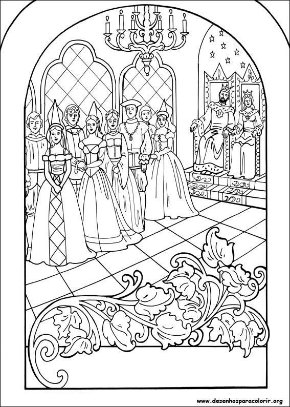 Desenhos Para Colorir Da Princesa Leonora Desenhos E Riscos