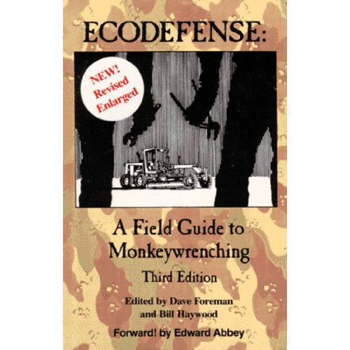 abbey eco defense Abbey&#8217s essay, eco-defense, and mckibben&#8217s essay, not so fast both ask the reader to act radically however, abbey writes as if to de-emphasize the radicalism of his solution while mckibben is blunt as he explains that the only sane option is something that is contradictory to societies current values.