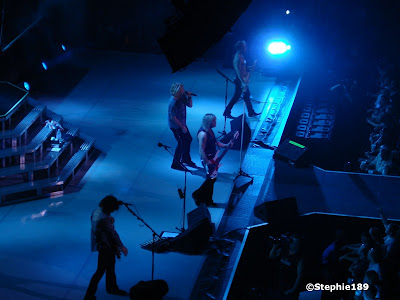 Vivian Campbell, Rick Savage, Joe Elliott, Phil Collen; Downstage Thrust Tour 2007, Def Leppard in concert!