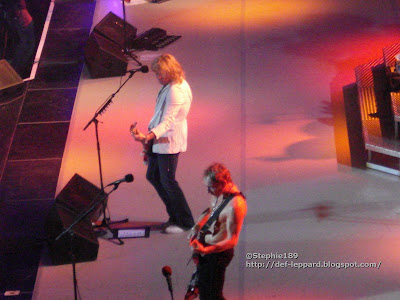 Def Leppard 2008 Phil Collen, Rick Savage