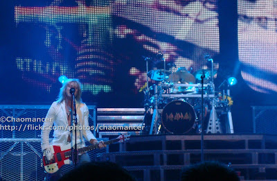 Rick Savage and Rick Allen, Def Leppard - 2008