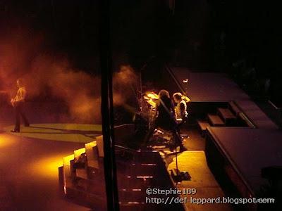Vivian Campbell, Rick Savage, & Rick Allen - Def Leppard - 2008