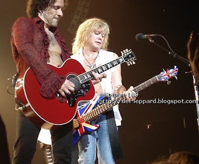 Vivian Campbell and Rick Savage - Def Leppard - 2008
