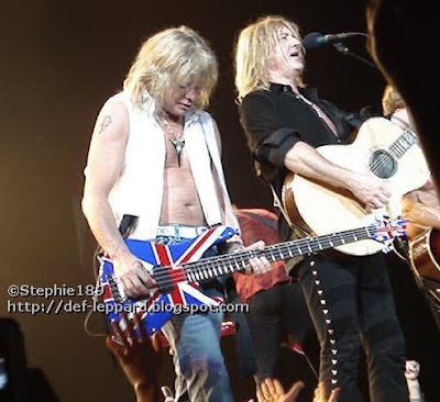 Sav, (Viv) and Joe (and Phil) - Def Leppard - 2008