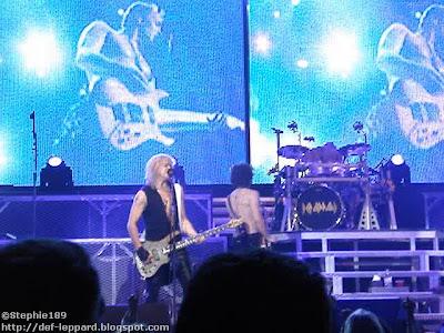 Phil, Sav, Viv, & Rick - Def Leppard - 2008
