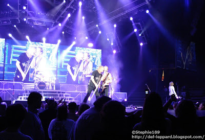 Rick Allen, Joe Elliott, Phil Collen, & Rick Savage - Def Leppard - 2008