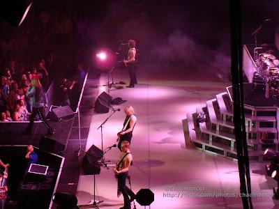 Phil Collen, Rick Savage, Joe Elliott, & Vivian Campbell - Def Leppard - 2008