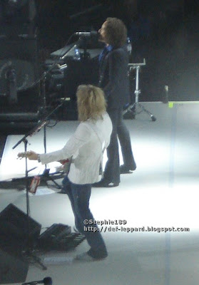 Rick Savage and Vivian Campbell - 2008 - Def Leppard