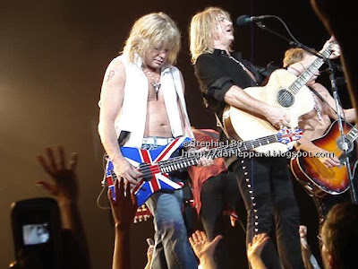 Sav, Viv, Joe, and Phil - Def Leppard - 2008