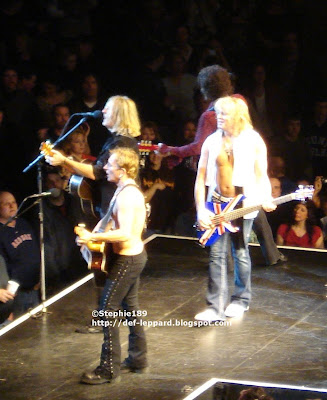 Phil, Joe, Viv, and Sav - Def Leppard - 2008