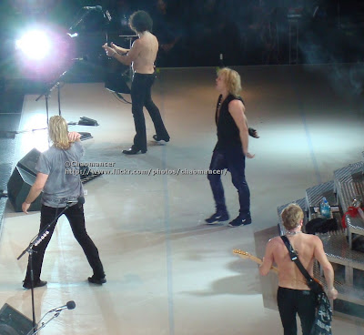 Joe, Viv, Sav, and Phil - Def Leppard - 2008
