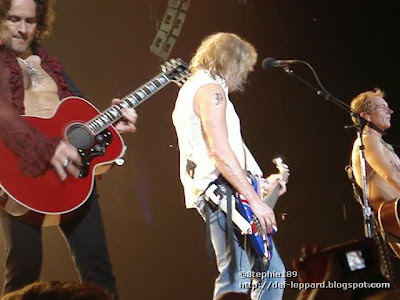 Vivian Campbell, Rick Savage, and Phil Collen - Def Leppard - 2008