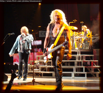 Joe Elliott, Rick Savage, and Rick Allen - Def Leppard - 2009