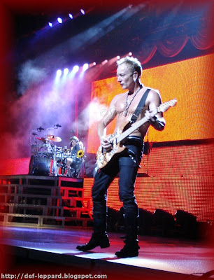 Rick Allen and Phil Collen - Def Leppard - 2009