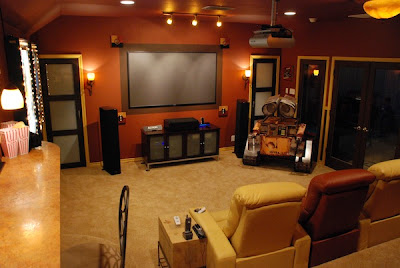 A Color Specialist in Charlotte: Media Room Setup