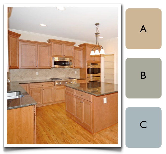 A color specialist in charlotte how to choose color for a for Colour choice for kitchen