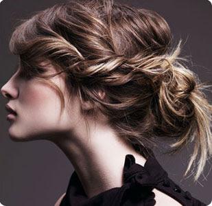 Повседневные прически для средних волос своими руками