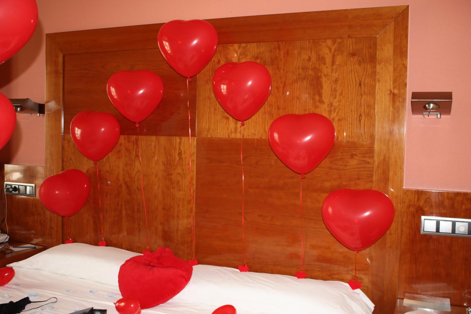 40 aniversario de boda en habitacion hotel for Decorar habitacion hotel