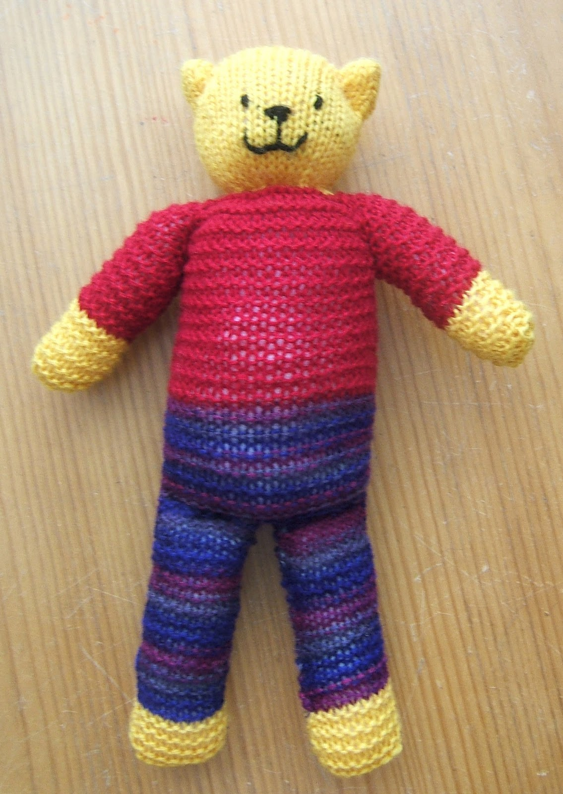 aussie knitting threads: The Ready Teddy