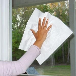 util dicas - dica limpar vidros