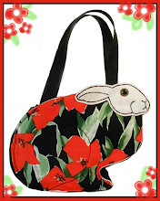 Donation of Arabella Bag to Buckeye House Rabbit Society Spring Raffle 2010
