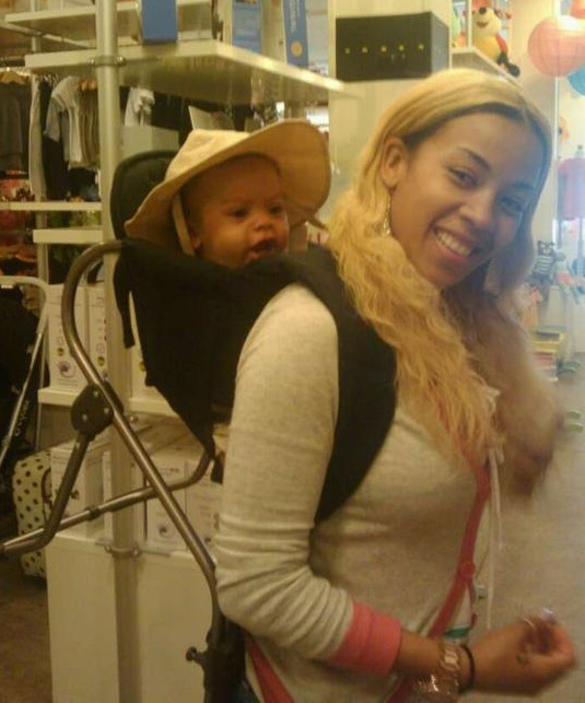 Awww how cute is Keyshia Cole's little bundle of joy?