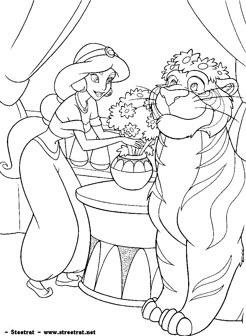 Coloring Pages Of Disney Movies :