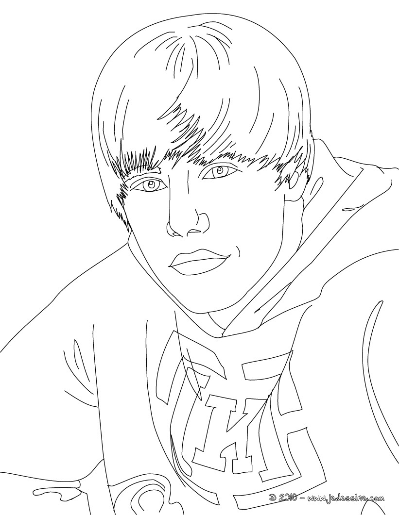 justin bieber coloring pages 2013 - photo#40