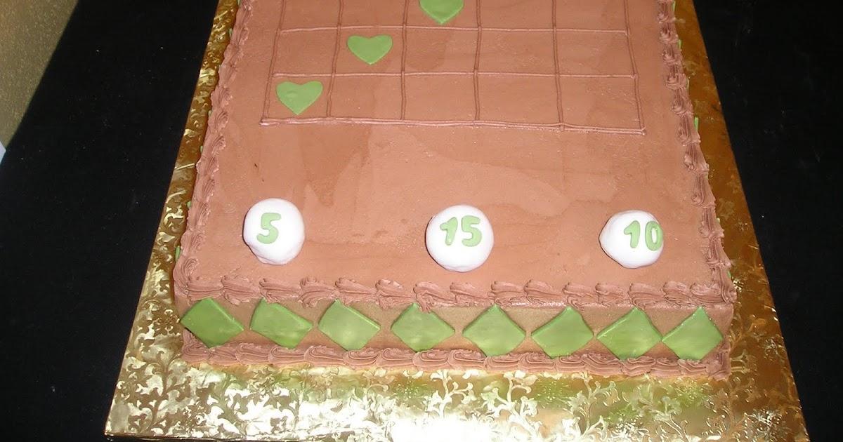 Dee Licious Cakes Bingo Groom S Cake