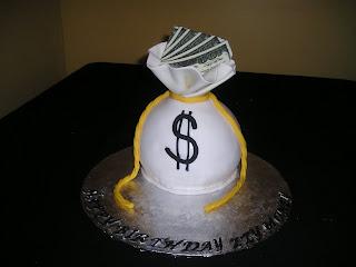 Dee Licious Cakes Money Bag