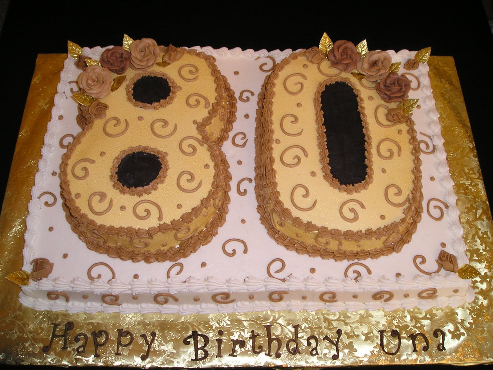 DEE Licious Cakes Eighty Years Old