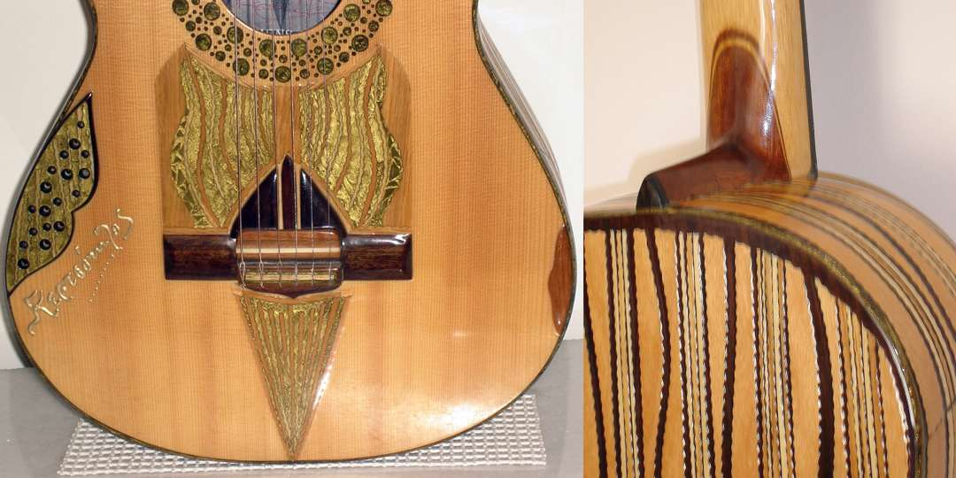 Kertsopoulos FLAMENCO-CLASSICAL guitar model details