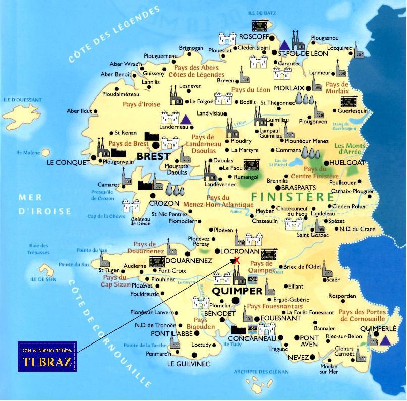 Le blog de Marie Line: Découvrir le Finistère en 1 semaine