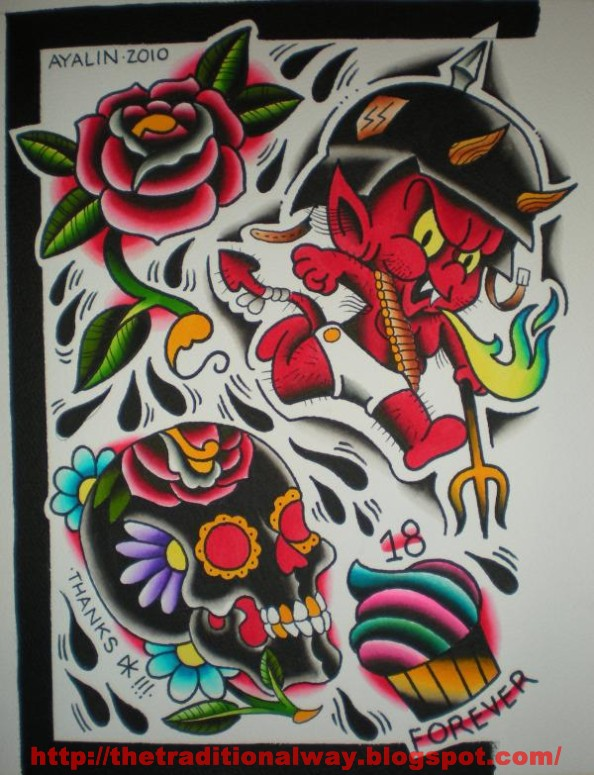 LIVERPOOL TATTOO CONVENTION Steve Byrne, Bert Grimm, Tim Lehi,