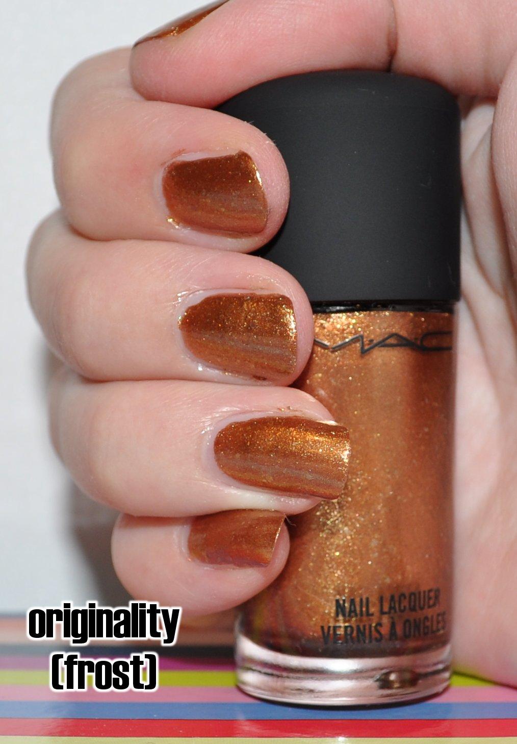 thatleanne: MAC Originality nail polish and small haul!