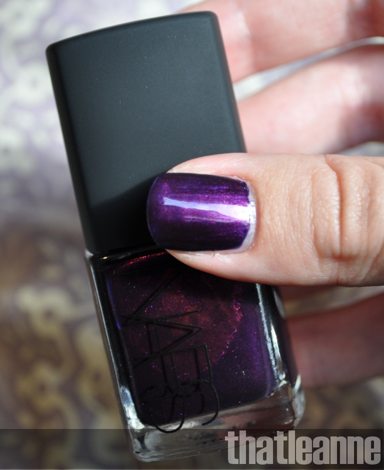 thatleanne: NARS Purple Rain for the well... rain