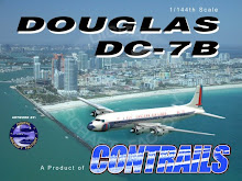 DC-7B 1/144 Scale Model Kits For Sale