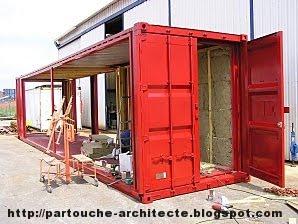 Patrick partouche container house lille for Transformation conteneur
