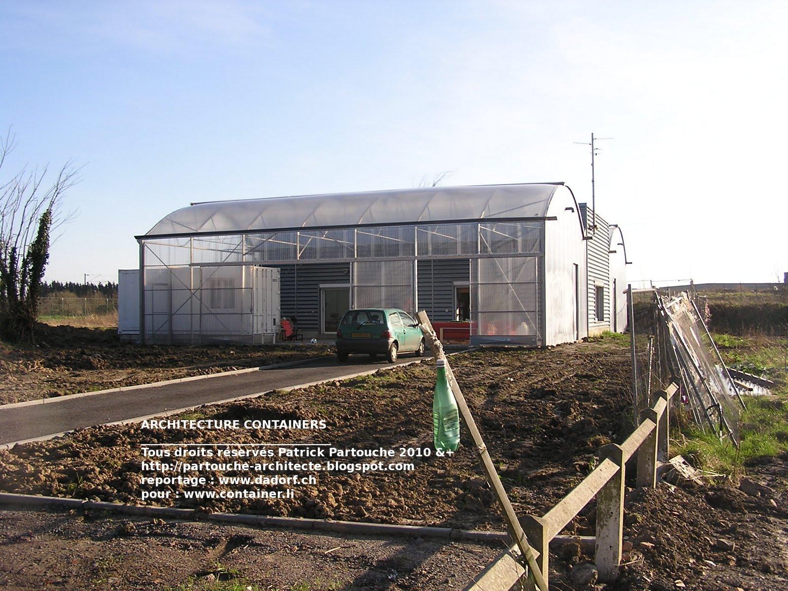 Patrick partouche octobre 2010 - Maison dans hangar metallique ...