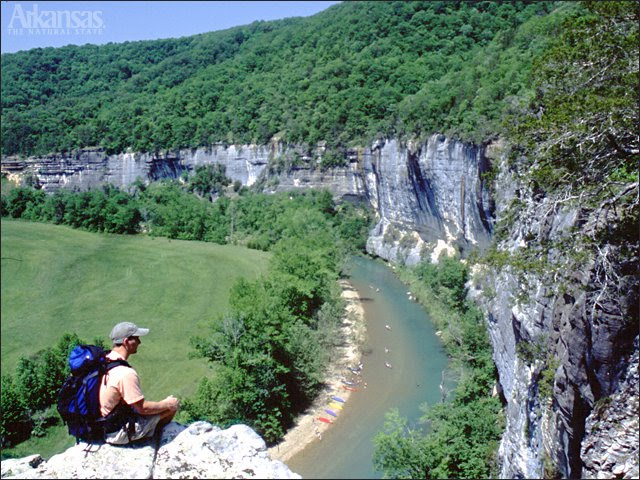 Floating the wild and scenic buffalo river