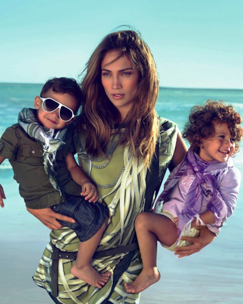 MR. WILL-W.:POP MAVEN: JENNIFER LOPEZ AND TWINS MAX & EMME ...