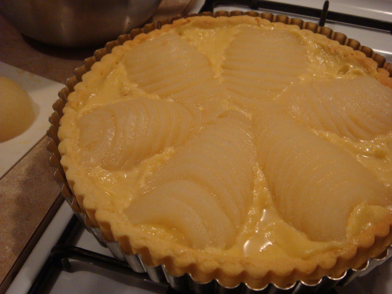 butter hearts sugar: Pear and almond tart