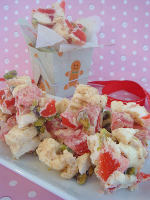 White Chocolate Rocky Road With Turkish Delight