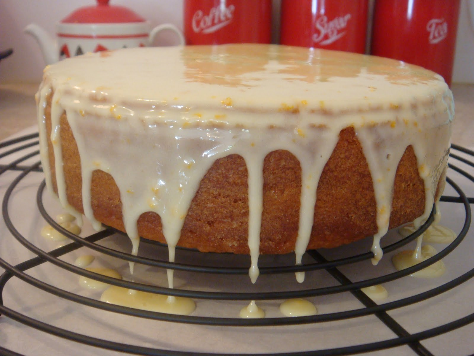 butter hearts sugar: Orange Coconut Cake