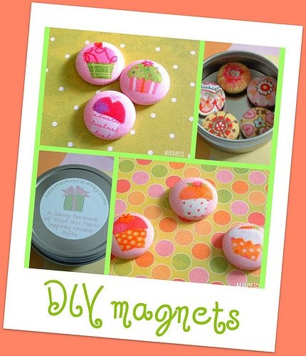 Heatherknitzdesigns blog giveaway diy magnets in honor for Where to buy magnets for crafts