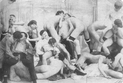 French Gay Orgy