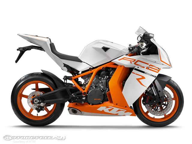 KTM brings more power to the table with its 2011 RC8R Superbike.