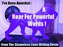 Blog Award - A Roar For Powerful Words