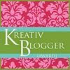 Blog Award - Kreativ Blogger
