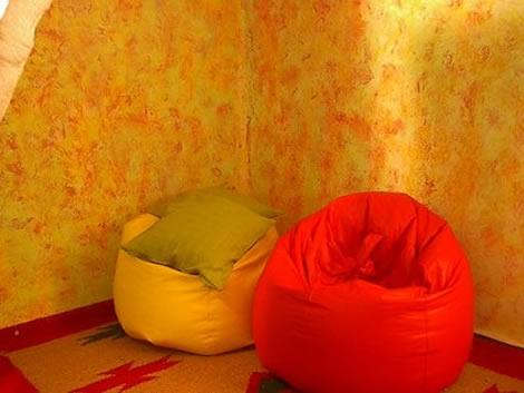 Atelier da criatividade estilos de pintura - Tecnicas para pintar paredes interiores ...
